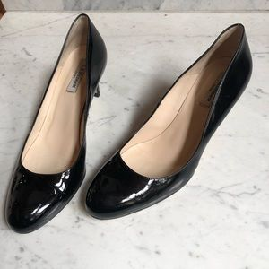 LK Bennett Black Patent Heels Pumps